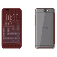 HTC Dot View Case II, für One A9, dunkelrot