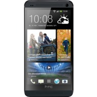 HTC One (M7), schwarz NB
