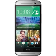 HTC One (M8), silver