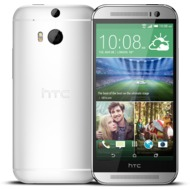 HTC One M8s, silber