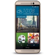 HTC One M9, gold-silber