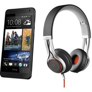 HTC One mini, schwarz (Telekom) + Jabra Stereo Headset REVO, schwarz