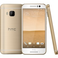HTC One S9, gold on gold