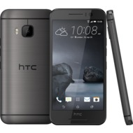 HTC One S9, gunmetal gray