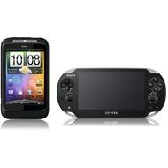 HTC Wildfire S + Sony Playstation Vita WiFi