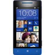 HTC Windows Phone 8S, schwarz-blau