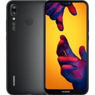 Huawei P20 lite Dual-Sim, midnight black mit Vodafone Red L Sim Only Vertrag