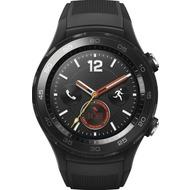 Huawei Smartwatch W2 Carbon mit Sportarmband schwarz