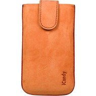 iCandy Fun Leather Bag XL, orange