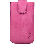 iCandy Fun Leather Bag XL, pink