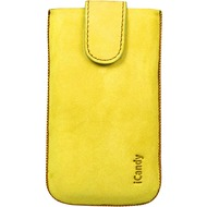 iCandy Fun Leather Bag XL, yellow