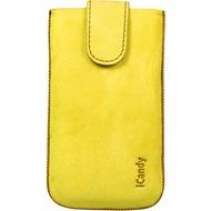 iCandy Fun Leather Bag XL, yellow