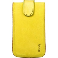 iCandy Fun Leather Bag XXL, yellow