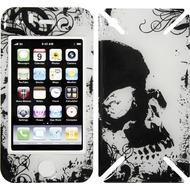 iCandy New Skin³ Gelschutz Grunge Skull für iPhone 3G