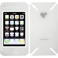 iCandy New Skin³ Gelschutz Love-Phone für iPhone 3G, weiß