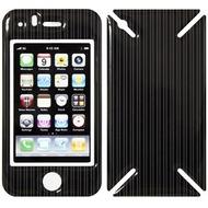 iCandy New Skin³ Gelschutz Fancy Stripes für iPhone 3G