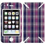 iCandy New Skin³ Gelschutz Fresh Checkered für iPhone 3G