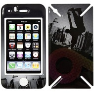 iCandy New Skin³ Gelschutz Street Pop für iPhone 3G