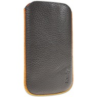 iCandy Splash Classic Mobile Sleeve für Samsung Galaxy S3, grau/ orange