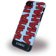 Iceberg Haha - Silikon Hülle - Apple iPhone 6/ 6s/ 7 - Blau Rot