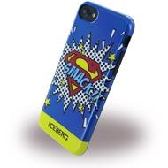 Iceberg Superman Smack - Silikon Hülle - Apple iPhone 6/ 6s/ 7 - Blau