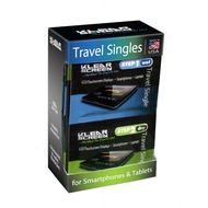 iKlear Klear Screen Travel Singles, 12er-Pack Reinigungstuch für Smartphones, Tablets & Bildschirme