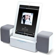 iLuv Stereo Lautsprecher Dockingstation für iPad /  iPhone /  iPod, weiß