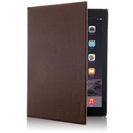 iMummy The Book - Hülle mit Standfunktion aus Echtleder für iPad Mini, braun