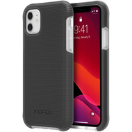 Incipio Aerolite Case, Apple iPhone 11, schwarz/ transparent, IPH-1851-BLK