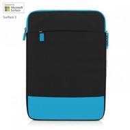 Incipio Asher vertikale Tasche Microsoft Surface 3 schwarz/ cyan MRSF-086-BKCYN