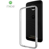 Incipio Bumper Case - Motorola Moto Z - silber