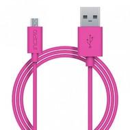Incipio Charge/ Sync Micro-USB Kabel 1m pink PW-200-PNK