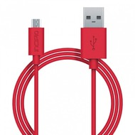 Incipio Charge/ Sync Micro-USB Kabel 1m rot PW-200-RED