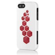 Incipio CODE für iPhone 5/ 5S/ SE, weiß-schwarz-rot
