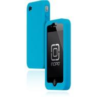 Incipio dermaSHOT für iPhone 4, türkis-metallic