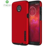 Incipio DualPro Case, Motorola Moto Z3 Play, iridescent rot/ schwarz