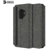 Incipio Esquire Series - Carnaby Folio Case Samsung Galaxy S9 grau