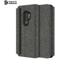 Incipio Esquire Series - Carnaby Folio Case Samsung Galaxy S9+ grau