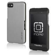 Incipio Feather Shine für BlackBerry Z10, silber