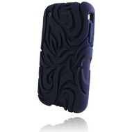 Incipio Tribal für iPhone 3G, navy blau
