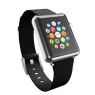 Incipio Premium Lederband Apple Watch 42mm Ebenholz (schwarz) WBND-009-EBNY