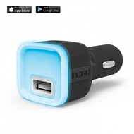 Incipio Prompt Auto Car Charger & Bluetooth Notification Device PW-201