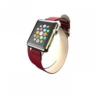 Incipio Reese Double Wrap Lederband Apple Watch 42mm rot WBND-013-RED