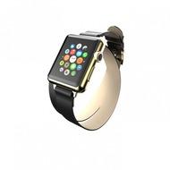 Incipio Reese Double Wrap Lederband Apple Watch 42mm schwarz WBND-013-BLK