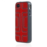 Incipio Step für iPhone 4 /  4S, rot-grau