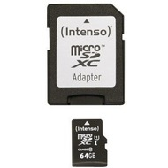 Intenso Micro SD Class 10 UHS-I, 64 GB