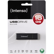 Intenso USB 2.0 Stick 16GB - Alu Line