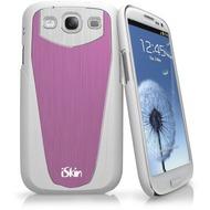 iSkin aura Halo - Schutzhülle für Samsung Galaxy S3 - weiß, pink