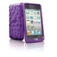 iSkin Pebble - Schutzhülle für Apple iPod Touch 4G - lila