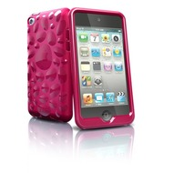 iSkin Pebble - Schutzhülle für Apple iPod Touch 4G - pink